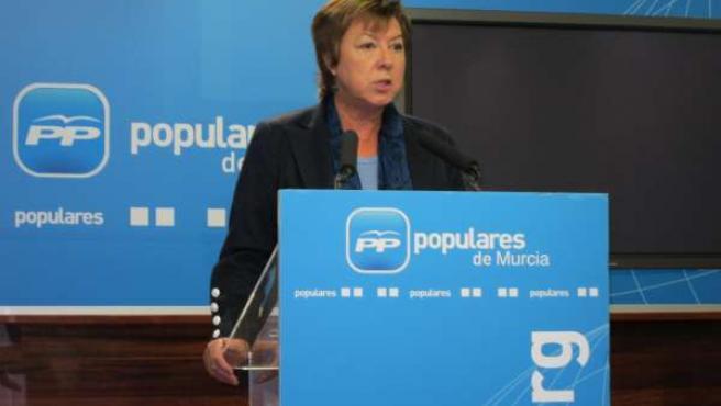 Pilar Barreiro, Cabeza De Lista Del PP De Murcia Al Congreso