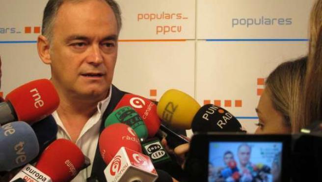 El Vicesecretario De Comunicación Del PP, Estaban González Pons.