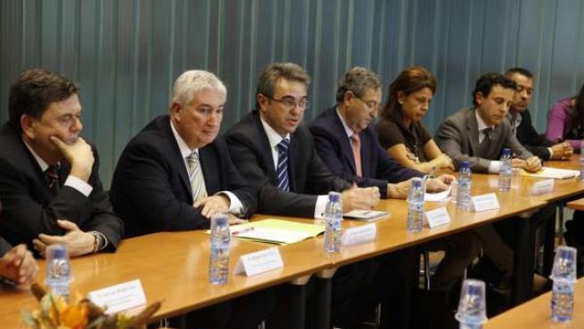 Sesión De Constitución Del Nuevo Cluster 'Aragón Innovalimen'