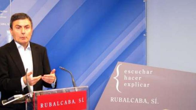 El Secretario General PSRM, Pedro Saura
