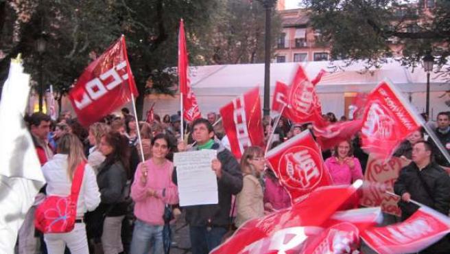 Concentración Discapacidad Toledo Por Impagos Junta