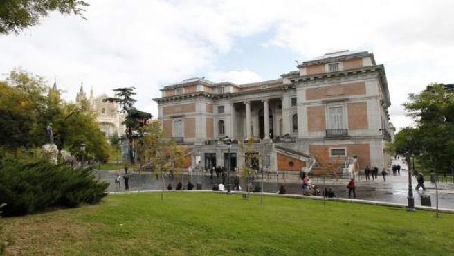 La entrada norte del madrileño Museo del Prado.