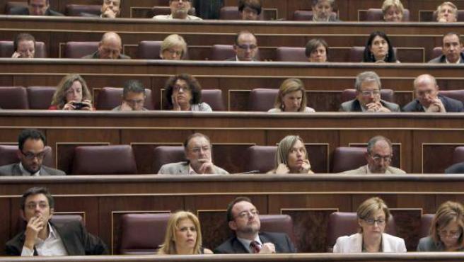 Día de pleno en el Congreso de los Diputados.