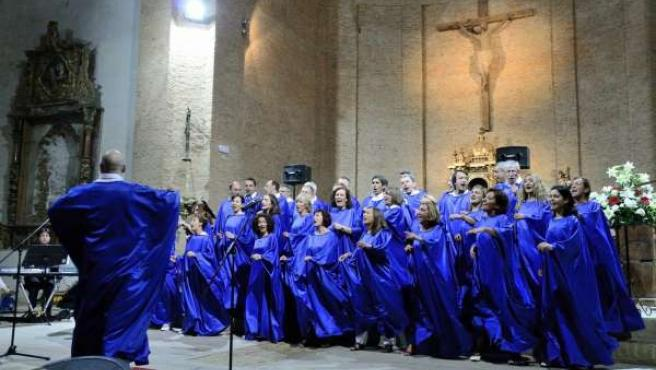 Actuación Del Coro De Góspel Vallisoletano 'Good News'