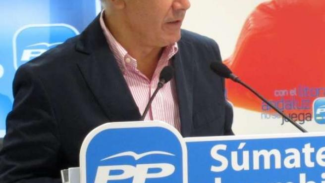 El Presidente Del PP-A, Javier Arenas, En Málaga