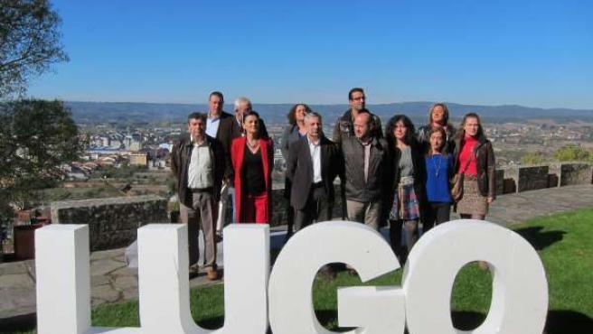 Presentación De La Candidatura Lucense Del Psdeg Al Congreso En Monforte