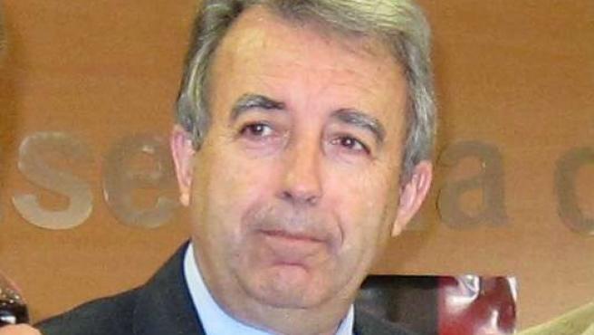 El consejero de Agricultura y Agua murciano, Antonio Cerdá