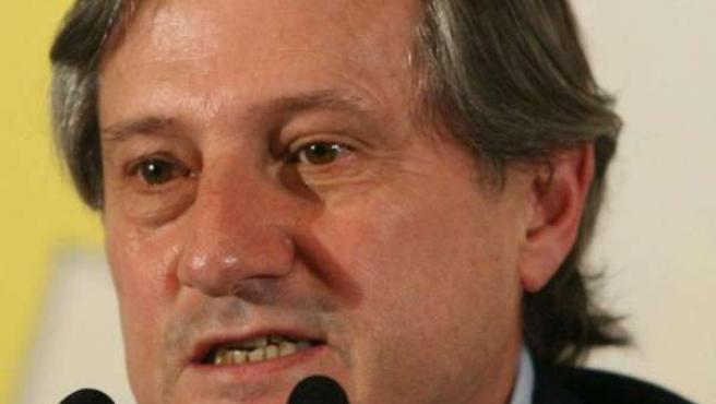 El candidato de Izquierda Unida (IU) a las elecciones europeas, Willy Meyer