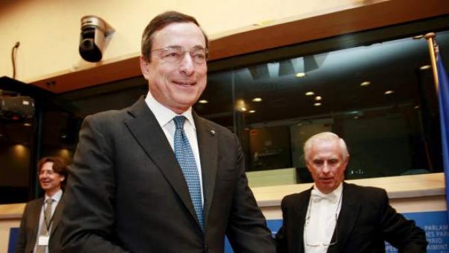 Fotografía de archivo de Mario Draghi, presidente del BCE.