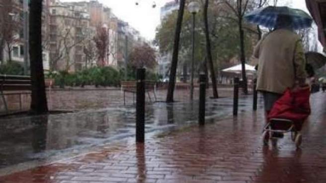 Imagen de archivo de un día de lluvia.