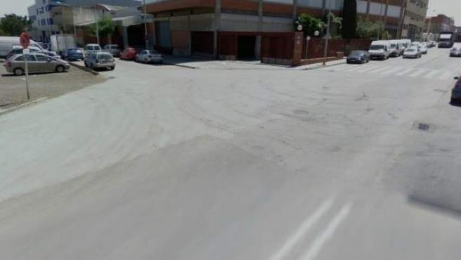 Captura de Google Street View del cruce entre las calles Joventut y Malaga, en la localidad barcelonesa de Sant Boi de Llobregat, donde dos menores han resultado heridos graves tras ser atropellados por un turismo.