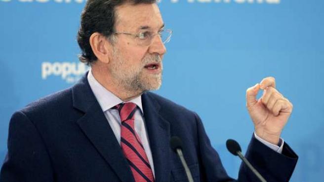 El líder del PP, Mariano Rajoy, en una imagen de archivo.