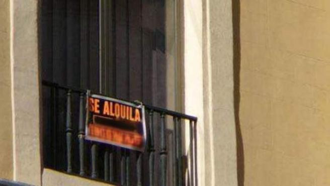 Imagen de archivo de una vivienda en alquiler.