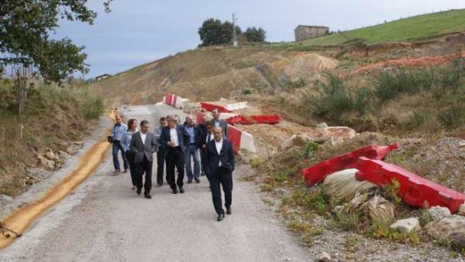 Revilla Visita Autovía Solares-Torrelavega
