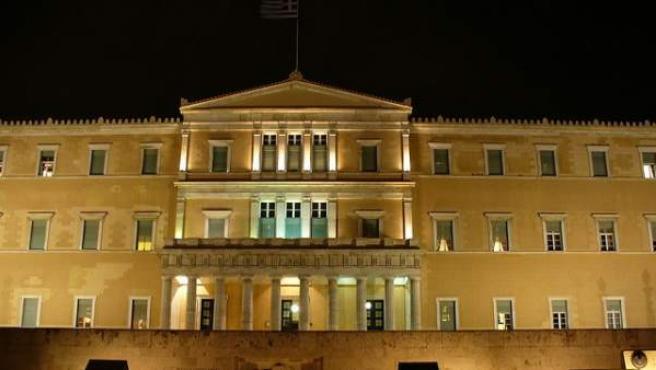 El Parlamento Griego.