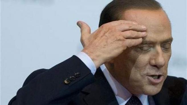 El primer ministro, Silvio Berlusconi.