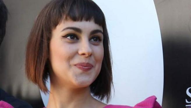 La debutante Alba García, protagonista de 'Verbo'.