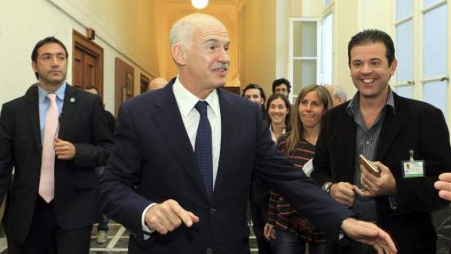 El primer ministro de Grecia, Yorgos Papandreu.