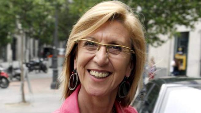 La diputada de UPyD, Rosa Díez.