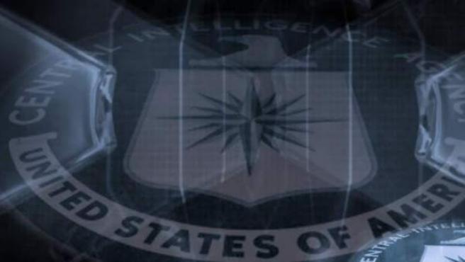 Logotipo de la CIA, la central de inteligencia de los EE UU.