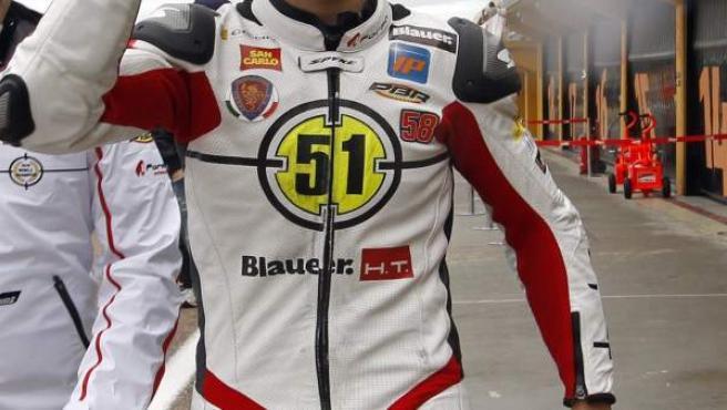 Pirro vence en Moto2.