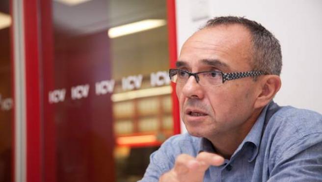Joan Coscubiela, candidato de ICV-EUiA al Congreso de los Diputados