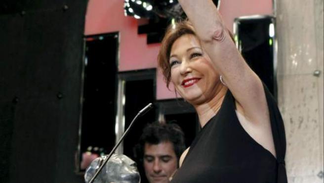 La presentadora Ana Rosa Quintana, en una gala de premios TP.