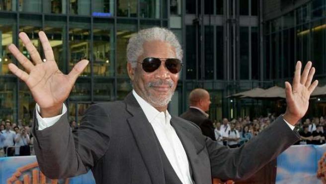 Morgan Freeman, en una imagen de archivo.