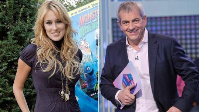 Carolina Cerezuela y Carlos Sobera, listos para dar las uvas en Antena 3.