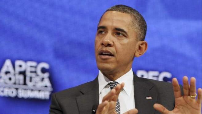 El presidente de EE UU, Barack Obama, en un acto en Honolulu (Hawai).