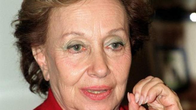 Fotografía de archivo de la actriz María Jesús Valdés, que falleció este sábado en Madrid a los 84 años.