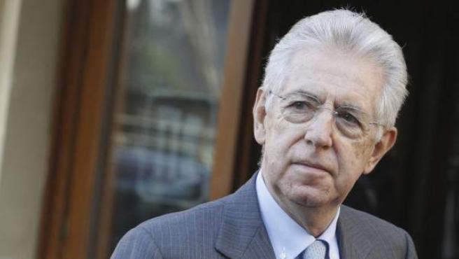 El economista y Primer Ministro de Italia, Mario Monti.