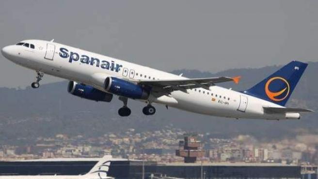Avión de Spanair.