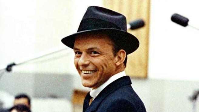Una imagen del 'crooner' Frank Sinatra en Nueva York.
