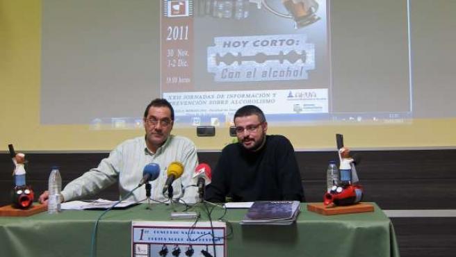 Teodoro Lozano Y Jaime Alonso De Linaje Durante La Presentación Del Concurso
