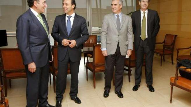 Diego Y Presidente Iberdrola