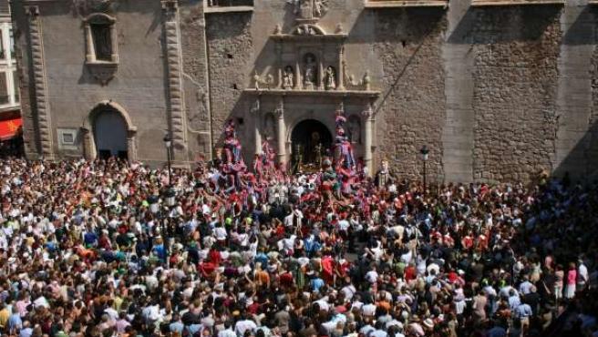Processó De La Mare De Déu De La Salut De Algemesí (Valencia).
