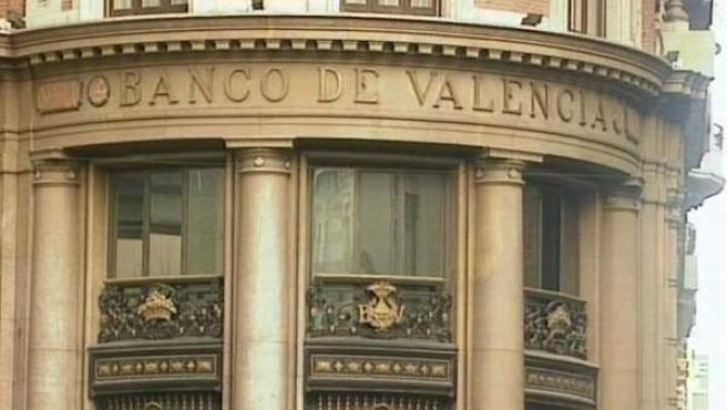 Fachada Del Banco De Valencia