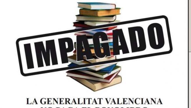 Las Librerías Valencianas Cuelgan Carteles Por El Impago Del Bonolibro
