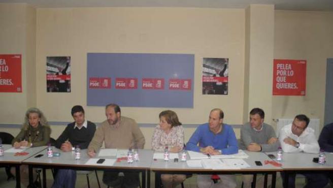 Ejecutiva Provincial Del PSOE De Cuenca