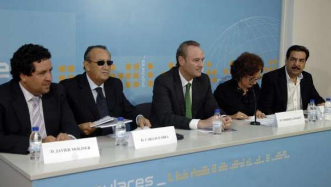 Fabra Preside La Reunión De La Junta Directiva Del PP De Castellón.