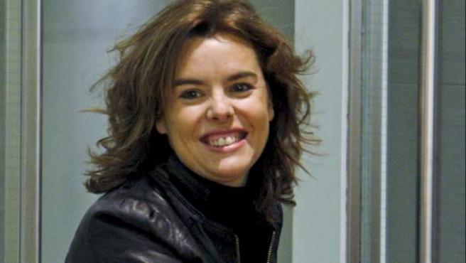 Soraya Sáenz de Santamaría, en una foto de archivo.