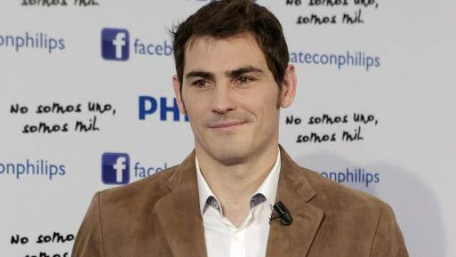 El portero y capitán del Real Madrid, Iker Casillas.