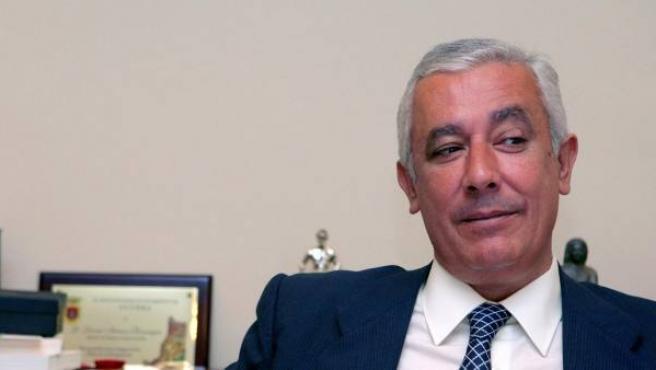 Javier Arenas, líder del PP en Andalucía.