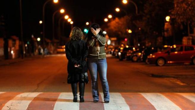 María y Raquel (nombres ficticios) continúan sin poder dar la cara.
