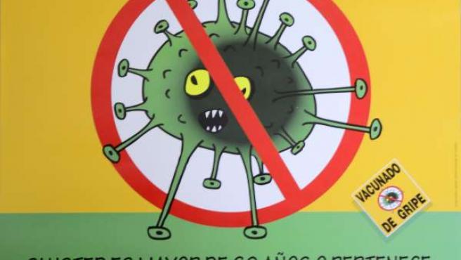 Cartel Vacunación Antigripal