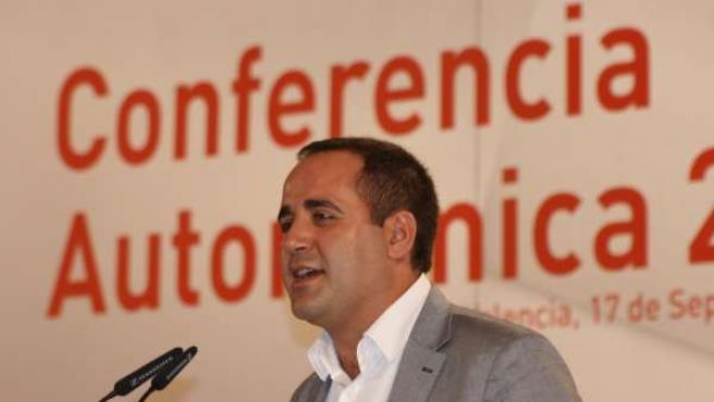 Alarte Interviene En La Conferencia Política Del PSPV.