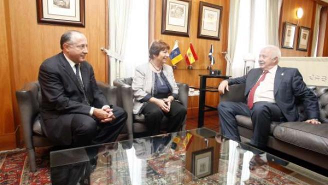 Reunión Con La Cónsul De Francia