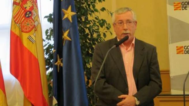 El Secretario General De CCOO, Ignacio Fernández Toxo
