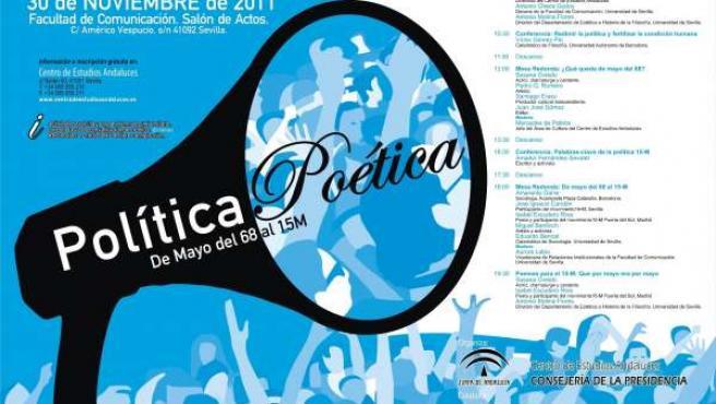 El 30 De Noviembre Se Celebra El Seminario 'Política Poética'